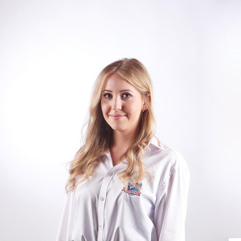 Physiotherapeutin Franziska Eisner