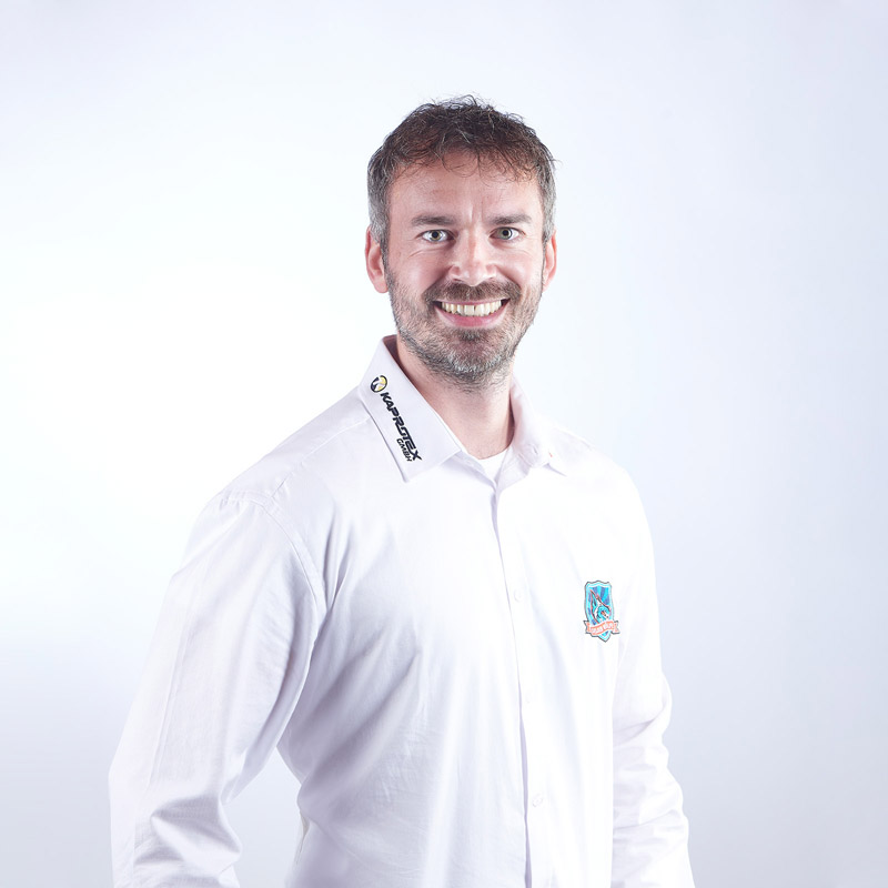 Fitnesstrainer Tobias Hoffmann