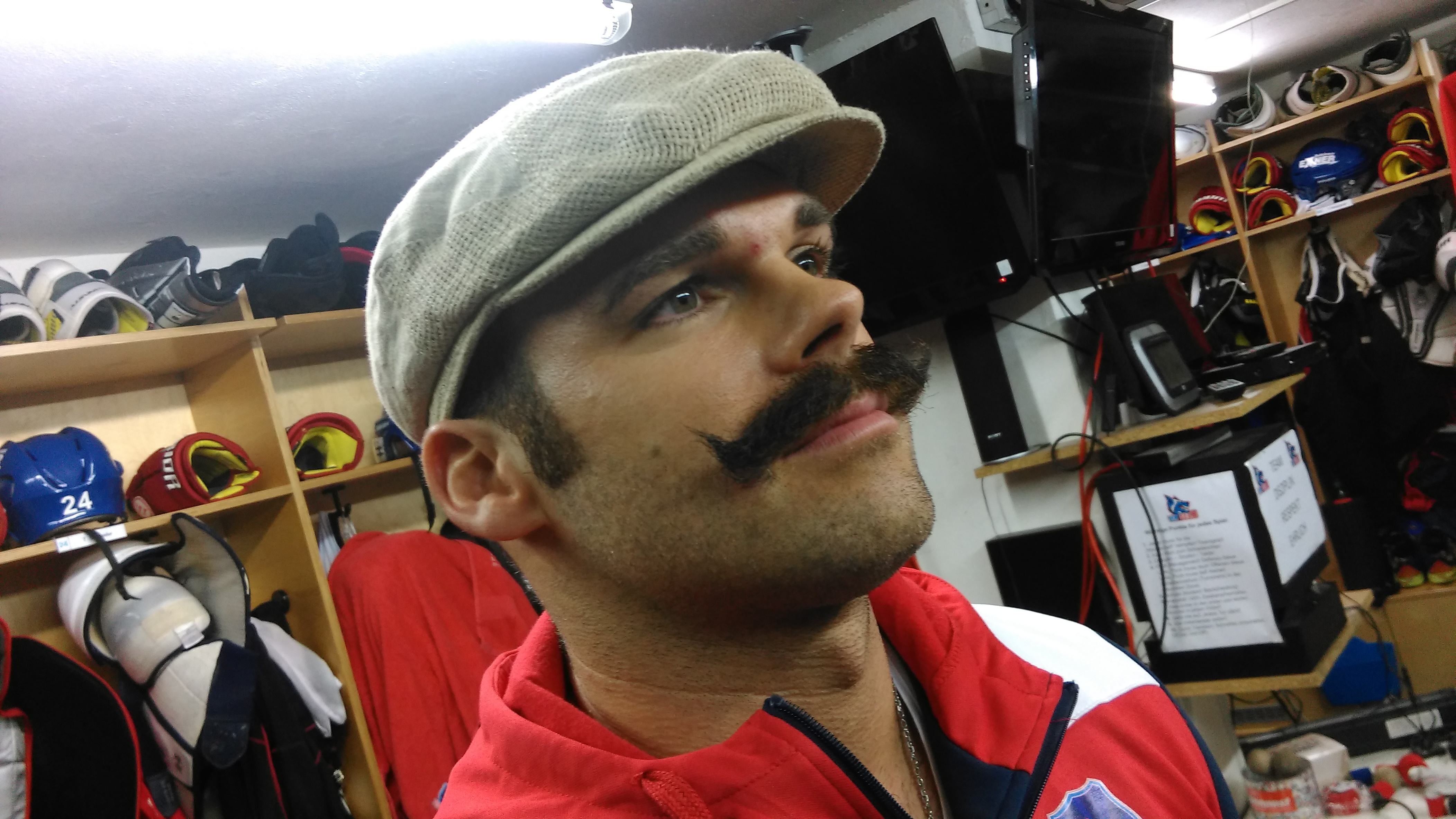 Movember 2015 Michel Maaßen