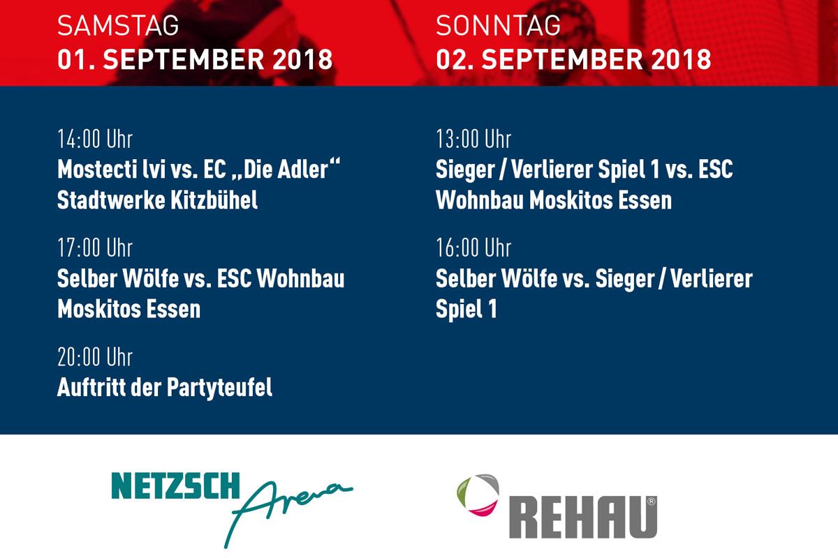 Hochfrankencup 2018 – Gegner, Tickets, Rahmenprogramm