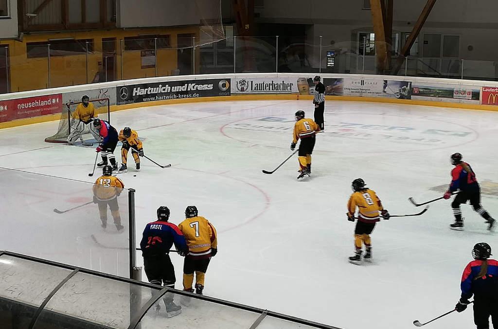 """Die U15 Des VER Selb Zu Gast Bei Den """"Lauterbacher Füchsen"""" In Hessen"""