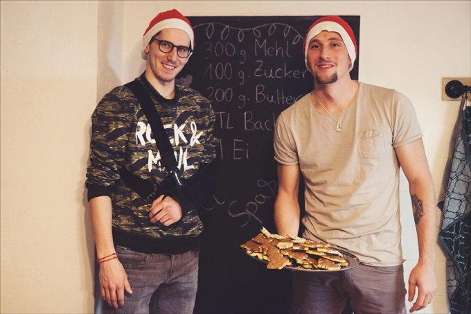 Wir Backen´s: Domi Kolb Und Ben Böhringer Im Weihnachts-Interview