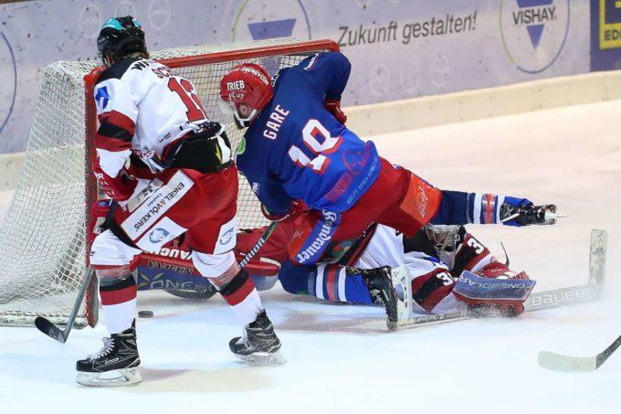 Eishockeyspektakel Zum Jahresausklang
