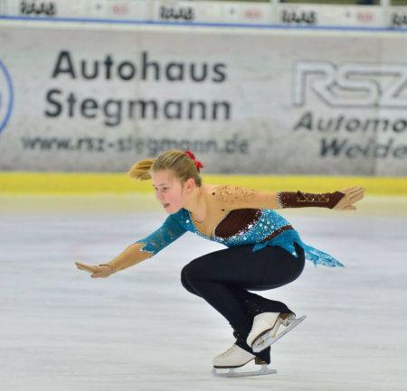 Eiskunstläuferinnen Mit Guten Leistungen In Weiden