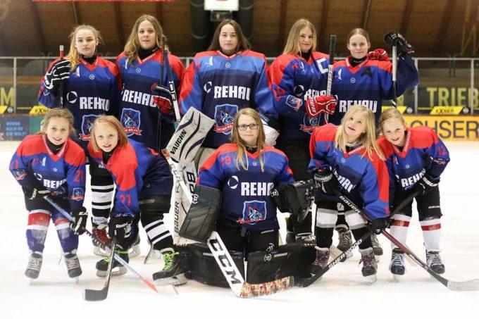 Girl`s Hockey Day In Der NETZSCH-Arena