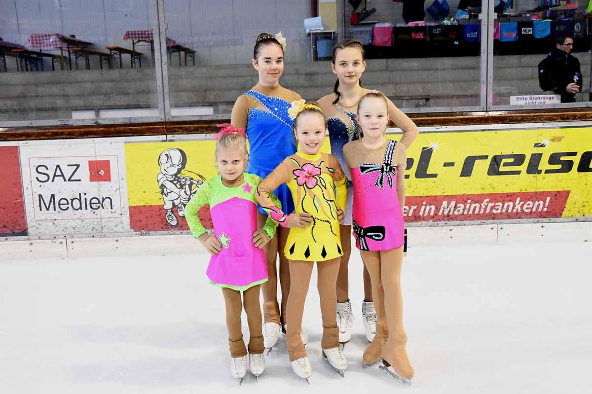 Erfolgreicher Saisonabschluss Der Selber Eiskunstläuferinnen