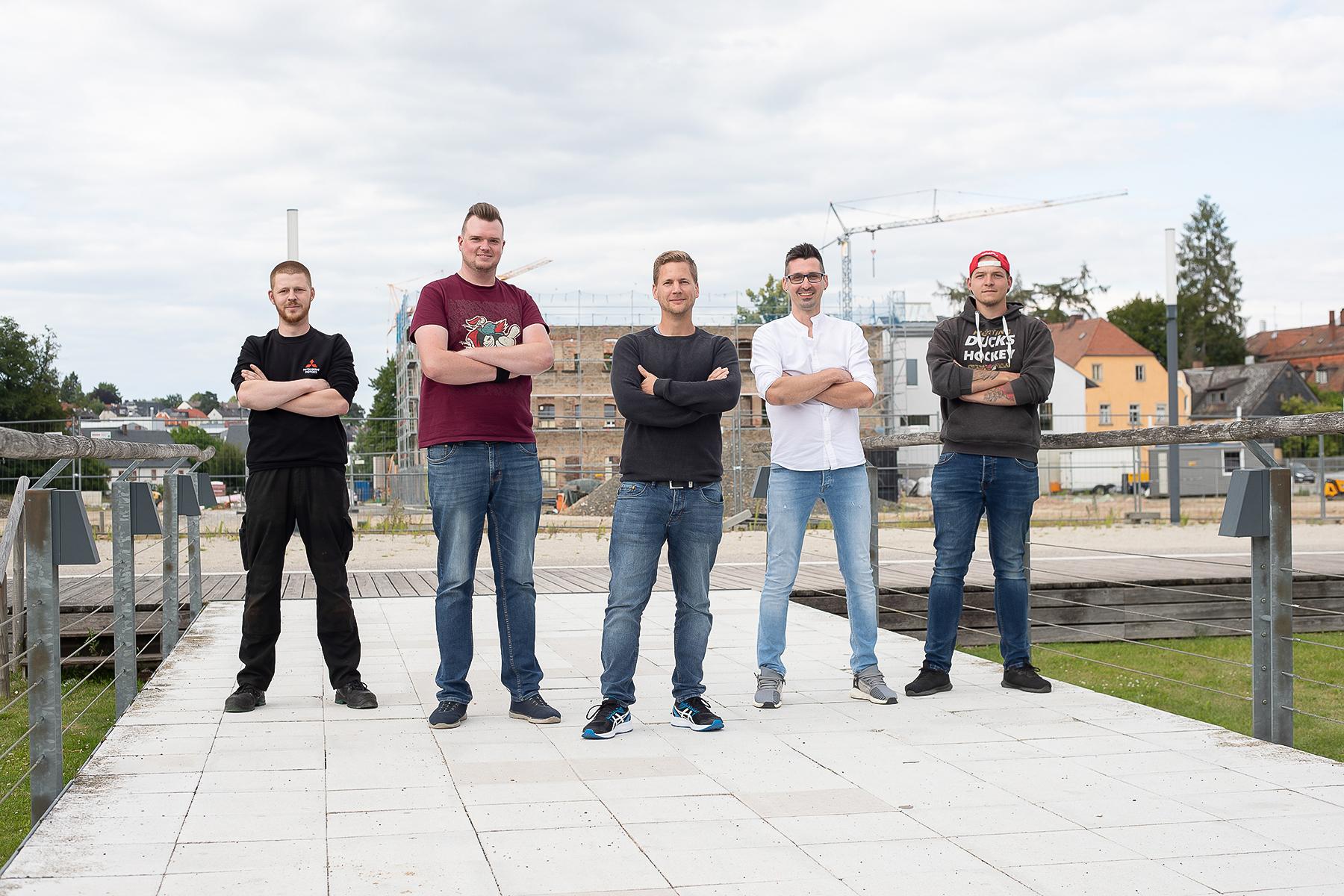 Fünf Männer – EINE Leidenschaft