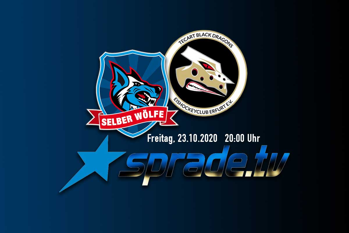 EILMELDUNG Selber Wölfe Gegen TecArt Black Dragons Erfurt Am Freitag Live Bei SpradeTV