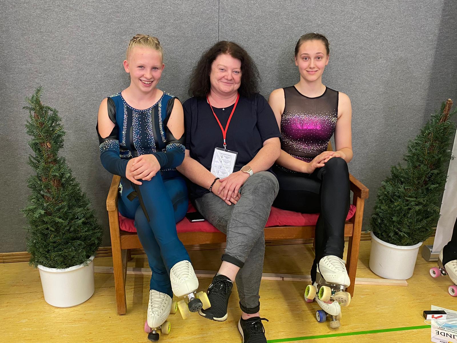 Rollkunstläuferinnen Starteten Bei Den Deutschen Meisterschaften